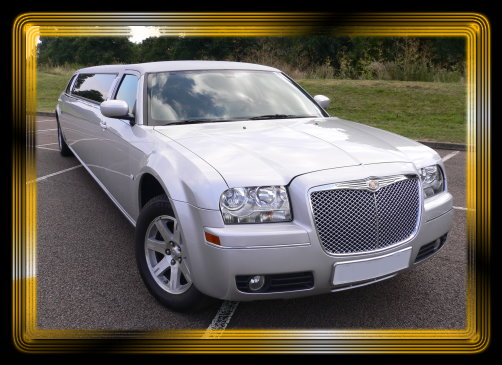 Chrysler 300 Limo Silver. Images of Silver Chrysler 300