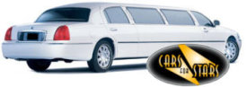 Limo Hire Baxley - Cars for Stars (Warrington) offering white, silver, black and vanilla white limos for hire